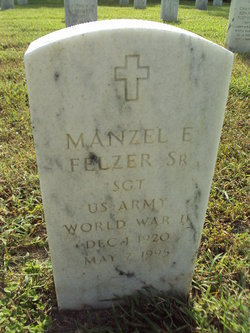 Manzel E Felzer, Sr