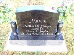 E. Joanne <I>Slaughter</I> Marvin