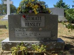 Jean <I>Shumate</I> Hensley