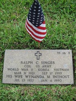 Ralph C Singer