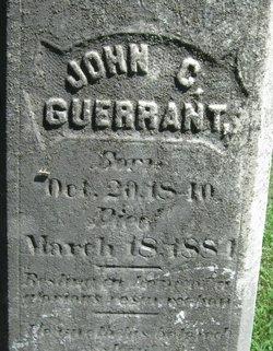 Pvt John C. Guerrant
