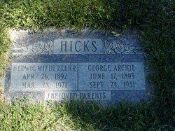 Hedwig <I>Wiederkehr</I> Hicks