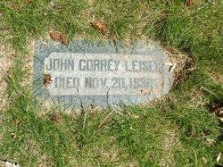 John Correy Leiser