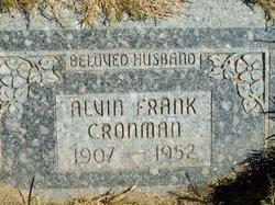 Alvin Frank Cronman