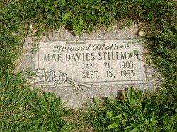 Mae <I>Davies</I> Stillman