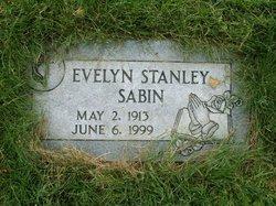 Evelyn <I>Stanley</I> Sabin