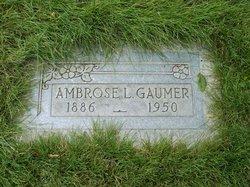Ambrose Lloyd Gaumer