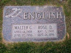 Walter C English