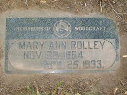 Mary Ann <I>Pico</I> Rolley