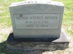 Nancy Niona <I>Atkins</I> Nisely