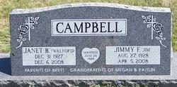 Janet Beth <I>Walford</I> Campbell