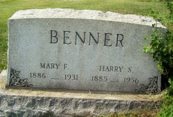 Mary Frances <I>Mallory</I> Benner