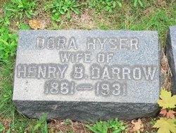 Dora <I>Hyser</I> Darrow