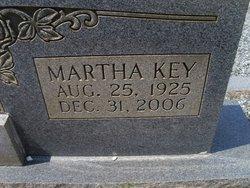 Martha <I>Key</I> Lindsey