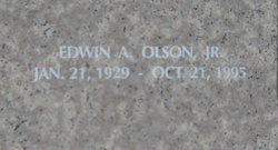 Edwin A Olson, Jr