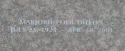 Marjorie Pool Dillon