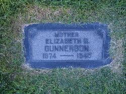 Elizabeth <I>Brown</I> Gunnerson