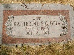 Katherine E G Defa