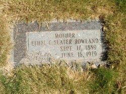 Ethel <I>Calloway</I> Rowland