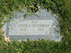 Edith Elizabeth <I>Ballance</I> Zetterman