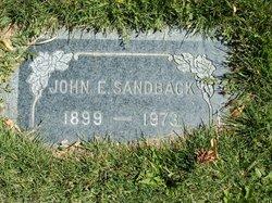John E Sandback