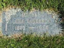 Lena <I>Topilla</I> Sandback