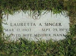 Lauretta A Singer