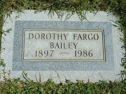 Dorothy <I>Fargo</I> Bailey