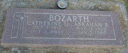 Catherine D <I>Brink</I> Bozarth