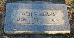 """John Wilbur """"Bert"""" Adams"""