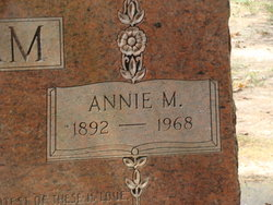 Annie Mariam <I>Sanford</I> Pincham
