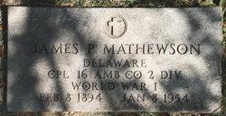 James P Mathewson
