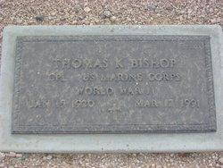 Thomas K Bishop