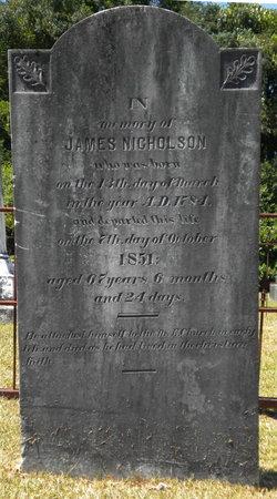 James Monroe Nicholson, Sr