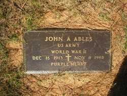 John Audrey Ables