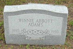 Winnie Jane <I>Nanny</I> Abbott