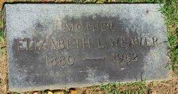 Elizabeth Lynn <I>Ladd</I> Weaver