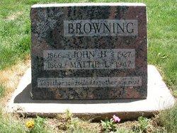 Mattie L. Browning