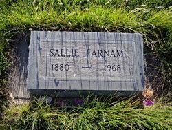 "Sarah ""Sallie"" <I>Oliver</I> Farnam"