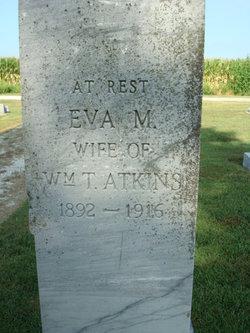 Eva M <I>Sutton</I> Atkins
