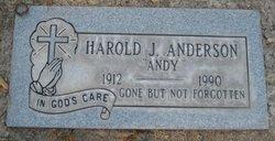 "Harold J. ""Andy"" Anderson"