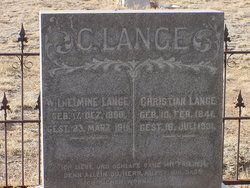 Christian William Theodore Lange