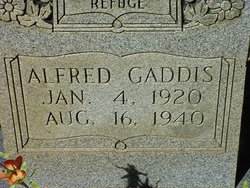 Alfred Gaddis