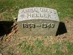 Anna <I>Giess</I> Heller