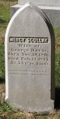 Mercy Scollay <I>Prentiss</I> Davis