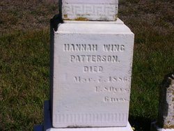 Hannah <I>Wing</I> Patterson