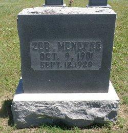 Zeb Menefee