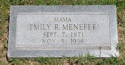 Emily R Menefee