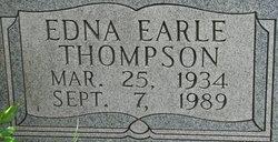 """Edna Earle """"Geemama"""" <I>Thompson</I> Marshall"""