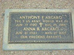 Anthony F Arcaro